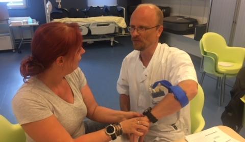 Nieuwsbericht: 'Stop de bloeding – red een leven'